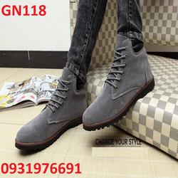 Giày bốt nam cao cấp - GN118