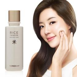 Nước hoa hồng TheeFaceeShop Rice Ceramide Moisture