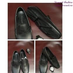 Giày mọi da nam khóa da phong cách lịch lãm GDNHK171