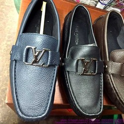 Giày mọi da nam khóa LV đẳng cấp sang trọng GDNHK160
