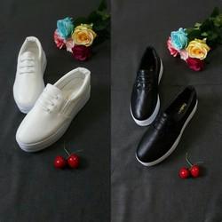 Giày lười slip on nữ