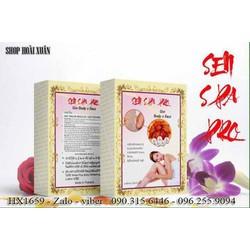 Lột thạch trắng da bong mảng to sen Pro Spa nha đam - HX1659