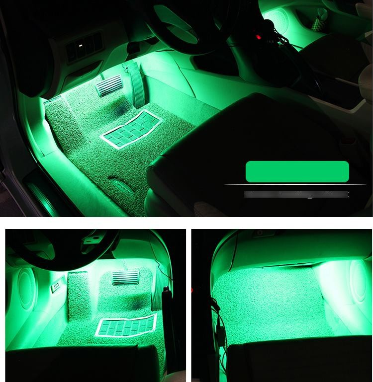 Đèn trang trí sàn xe - Chuyển đồng theo tiếng nhạc 7