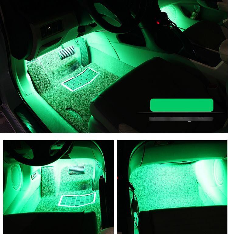 Đèn trang trí sàn xe hơi - Cảm biến theo tiếng nhạc 7