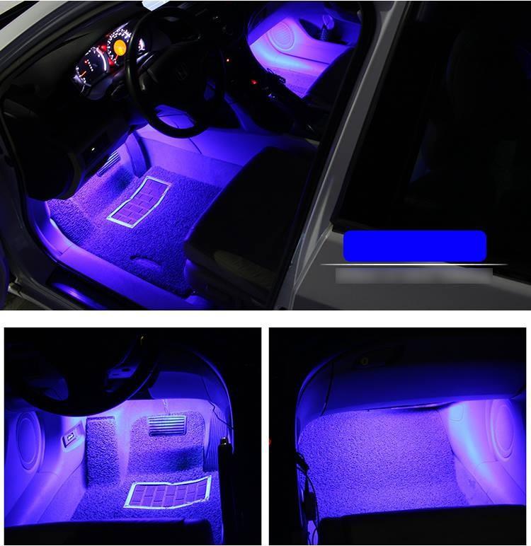 Đèn trang trí sàn xe hơi - Cảm biến theo tiếng nhạc 4