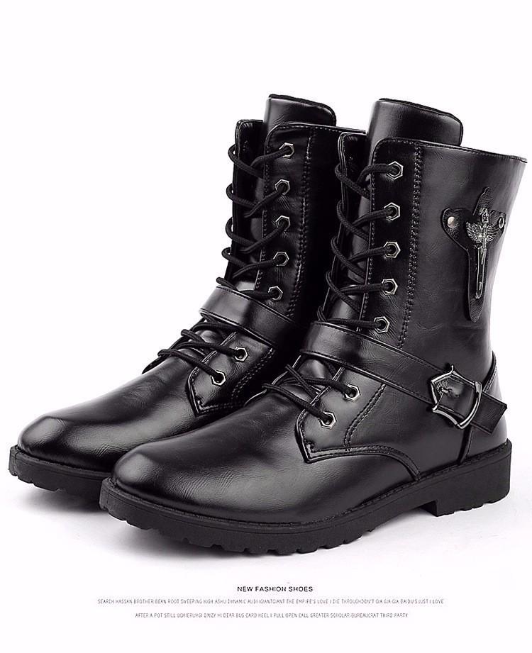 Giày bốt nam cao cấp Hàn Quốc - GN122 8