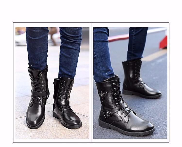 Giày bốt nam cao cấp Hàn Quốc - GN122 4