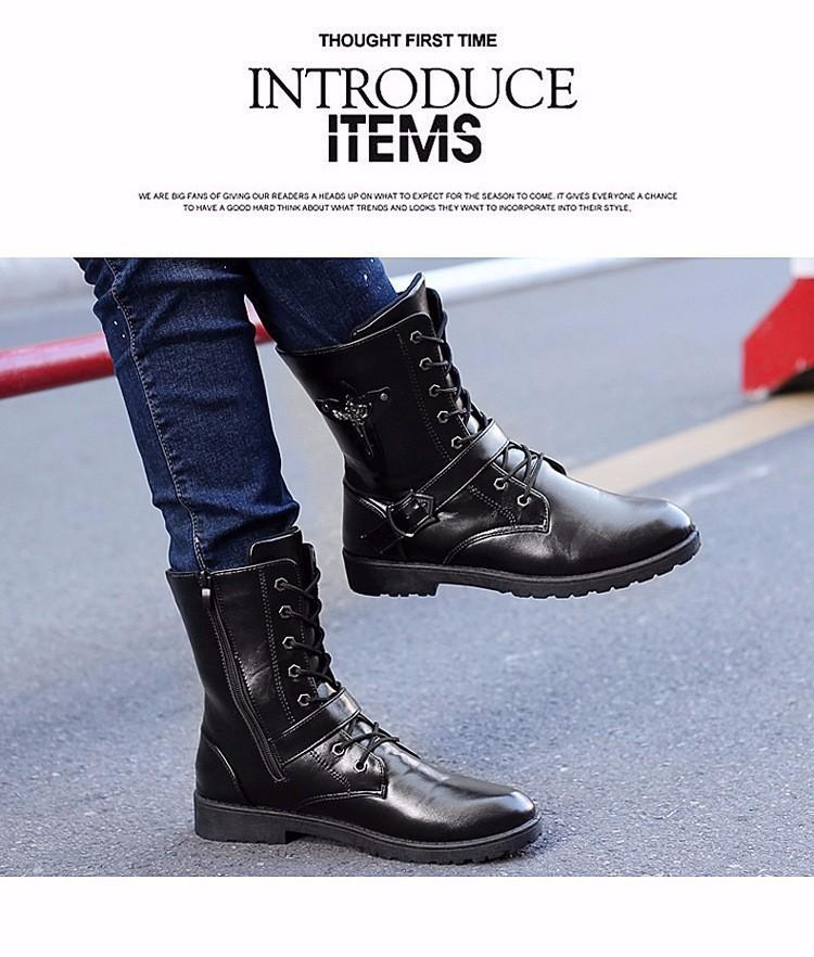 Giày bốt nam cao cấp Hàn Quốc - GN122 3