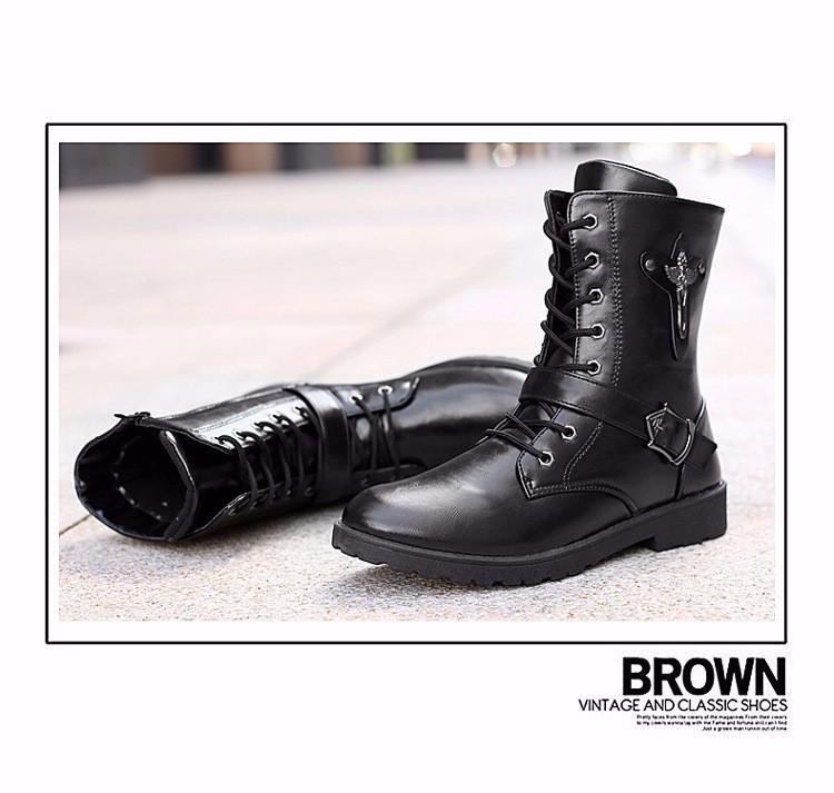 Giày bốt nam cao cấp Hàn Quốc - GN122 6