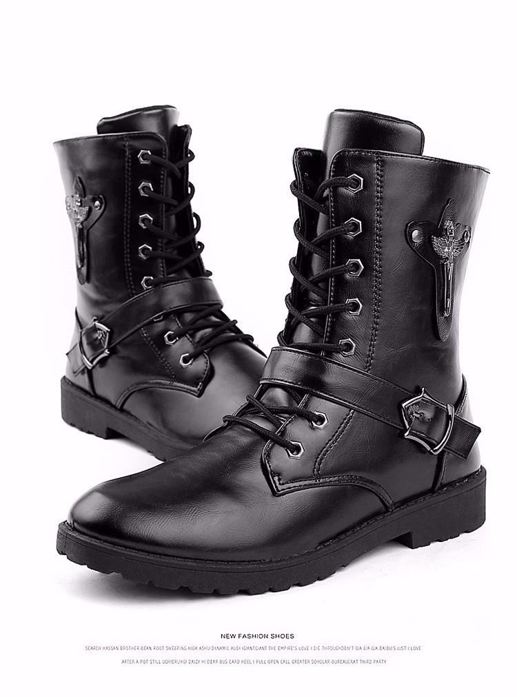 Giày bốt nam cao cấp Hàn Quốc - GN122 7
