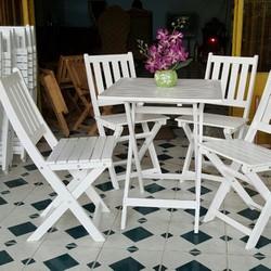 bộ ghế gỗ cafe giá rẻ