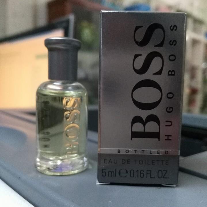 Nước hoa Hugo boss 5ml 1