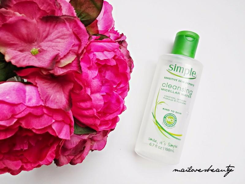 Nước Tẩy Trang Simple Kind To Skin Micellar Cleansing Water 4