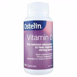 Vitamin D Ostelin Australia 250 viên