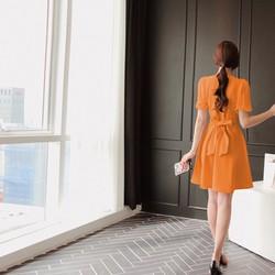 Đầm xòe cổ chéo duyên dáng – MS0217D