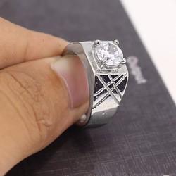 Nhẫn inox nam cao cấp đẹp phong cách Hàn Quốc - N525