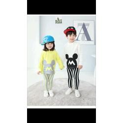 thời trang bé gái bộ dài tay bé gái và trai