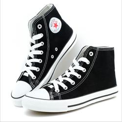 Giày cao cổ vải chất đẹp - GCC01