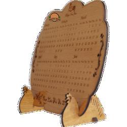 Lịch gỗ 1 tấm