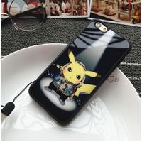 ỐP LƯNG SILICON DẺO pikachu iphone 5,5s6,6s,6 plus-p8