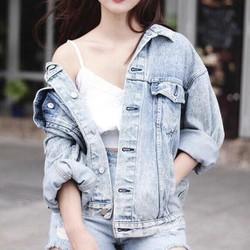 Áo khoác jean mới