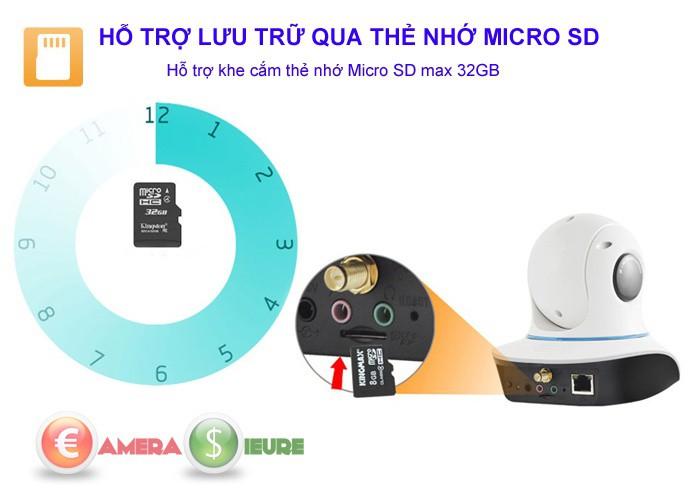 Camera quan sát ip wifi không dây thông minh Hdpro HDP333IP 01 4