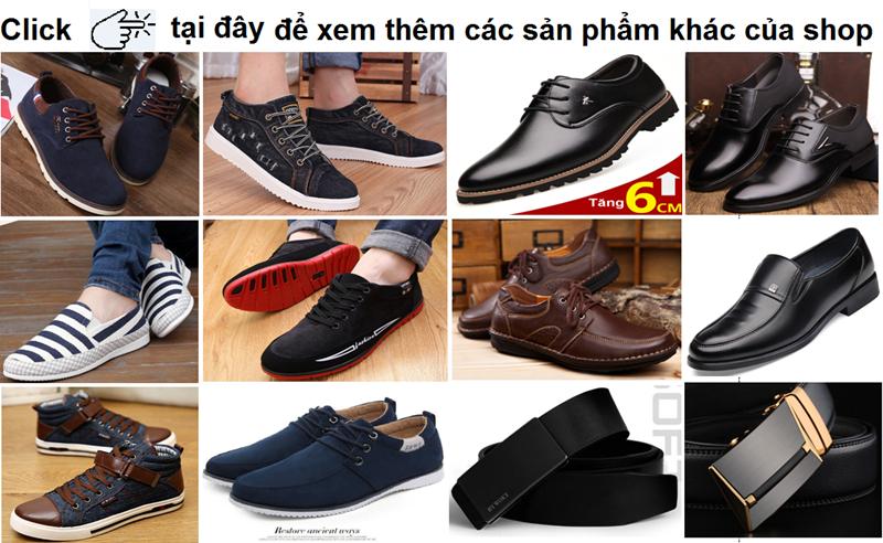 Giày da cao cấp - Sang Trọng, Lịch lãm - Mã G-234 7