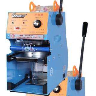 Máy ép miệng ly bằng tay ETON, máy ép nắp ly trà sữa - ET-S2-1 thumbnail