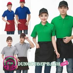 Đồng phục - Tạp dề pha chế - nhân viên phục vụ cà phê