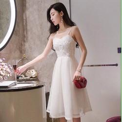 Đầm xòe 2 dây thời trang