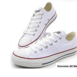 giầy conver trắng thấp cô