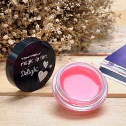 Son dưỡng môi Delight Magic Lip Tint Tonymoly mùi dâu