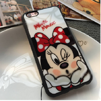 ỐP LƯNG SILICON DẺO mickey iphone 5,5s6,6s,6 plus-p10