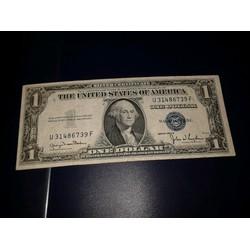 1 dola usd mỹ 1935 số thần tài 39