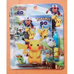 Bộ 2 cuốn Sổ tay có bút cao cấp Pokemon Go