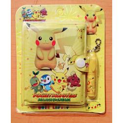 Bộ 2 Sổ tay có bút cao cấp Pokemon