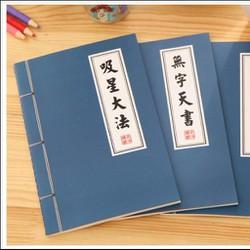 Sổ tay bí kíp võ lâm - vở võ lâm - 10 quyển