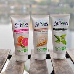 Sữa Rửa Mặt Tẩy Tế Bào Chết ST Ives Blemish Control Apricot Scrub