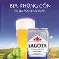 Bia không cồn Sagota 1 thùng