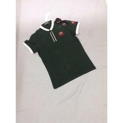 áo thun nam cổ viền logo sành điệu ipp7