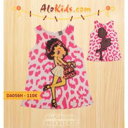 Đầm búp bê phong cách - hồng
