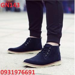 Giày bốt nam cổ thấp cao cấp - GN143