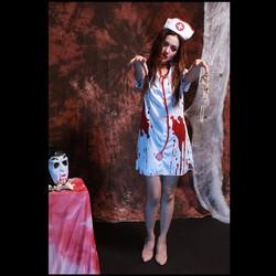Hóa Trang Halloween Y Tá Ma Nữ Queenie