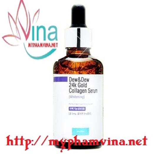 Serum trắng da 24K Gold Collagen Dew Dew 2