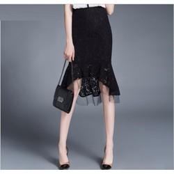 Chân váy ren đuôi cá thời trang cao cấp 2016 - A952