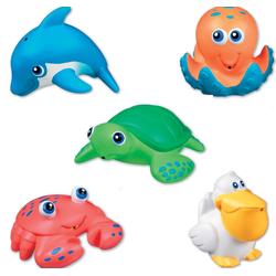 Bộ 5 sinh vật biển phun nước Munchkin