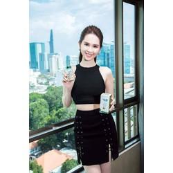Bộ váy áo rời croptopthiết kế ôm body sexy như Ngọc Trinh M3990