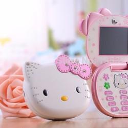 Điện thoại hello kitty k688, xinh xắn, mới về