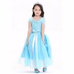 Hóa Trang Halloween Váy Công Chúa Elsa Baby Queenie