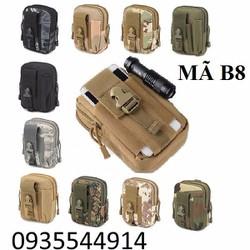 Túi đeo hông phong cách thời trang quân đội B8